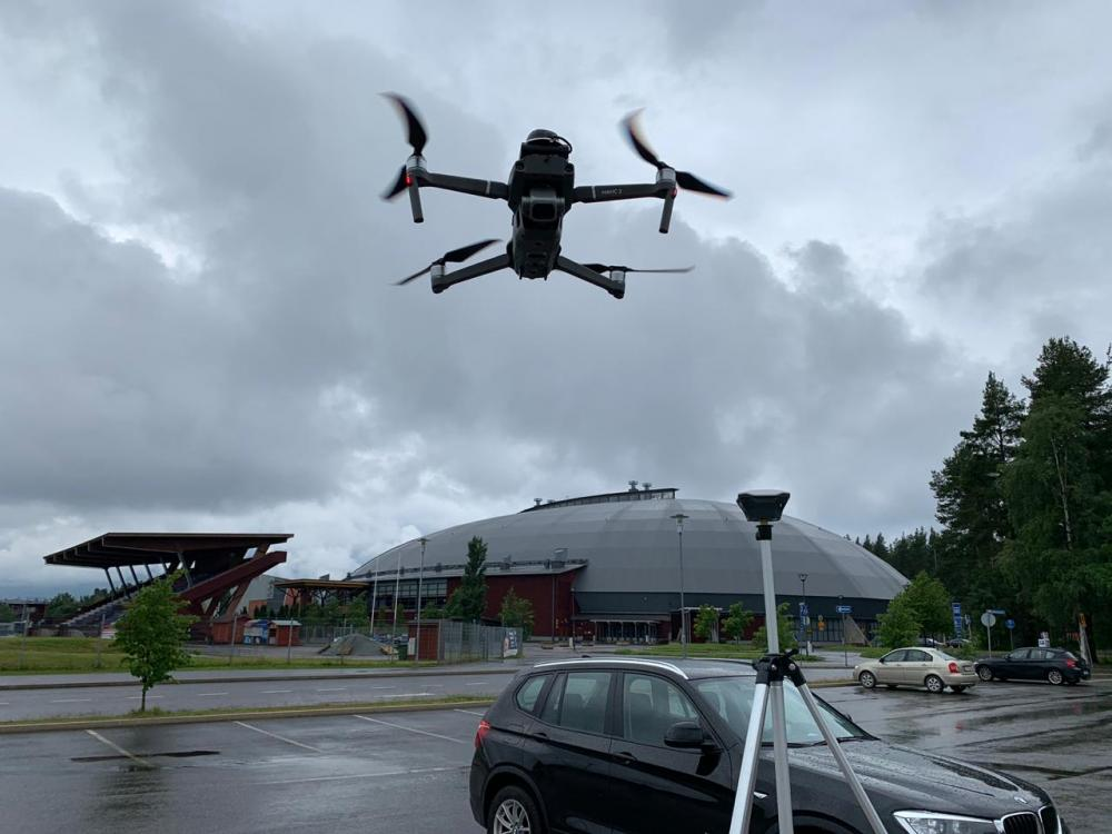 Using DJI Mavic 2 Pro RTK/PPK for professional aerial survey in Finland