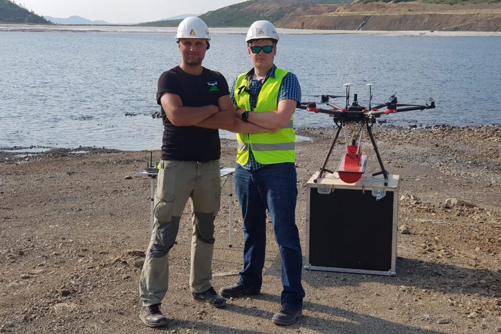 Aerial surveying with Topodrone DJI Mavic 2 Pro RTK/PPK