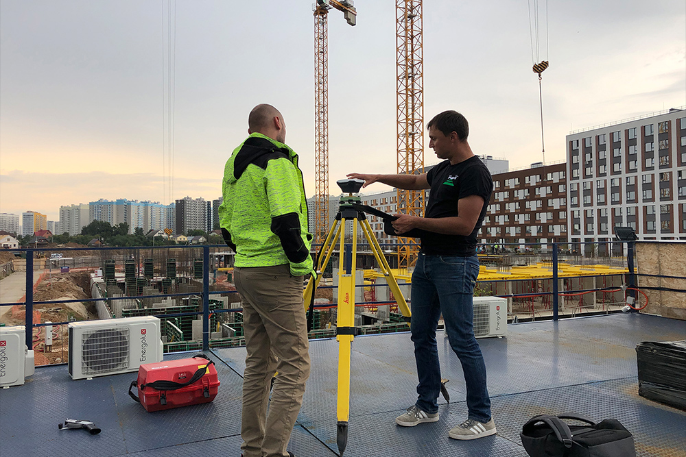 TOPODRONE UAV survey for construction site monitoring and BIM