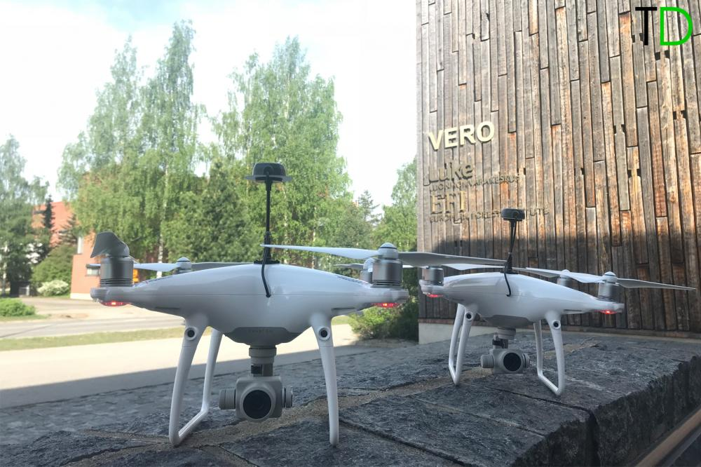 DJI PHANTOM 4PRO RTK PPK FOR URBAN AREAS SURVEY