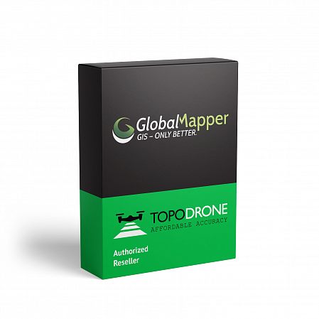 Global Mapper, Perpetual License, 1-Year Support