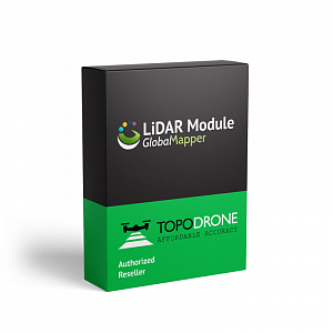 Global Mapper LiDAR Module, Perpetual License, 1-Year Support
